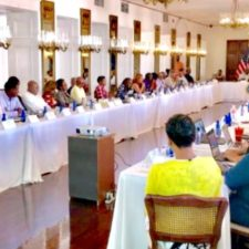 Seeking To Maximize Federal Financial Assistance, Mapp Meets With Over 40 Members Of His Cabinet On St. Croix