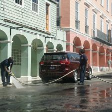 Watch | Residents Take it Upon Themselves to Clean Christiansted Town